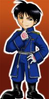 Chibi Roy Mustang by Amarevia