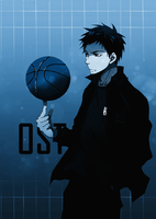 Aomine ART by Kykoz