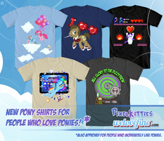 SHIRTPACOLYPSE! by PixelKitties