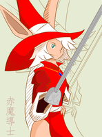 Red Mage by Kimimii