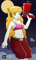 Curly Brace-Cave Story by Mariohenri