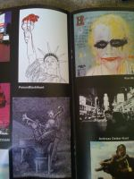 My piece in NYC art book 1 by PoisonBlackheart