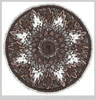 Peaceful Passage Mandala by Quaddles-Roost