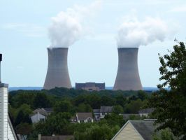 Nuclear Power Plant 10 by Dracoart-Stock