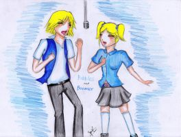 Bubbles and Boomer: Our Song by kuraikitsune13
