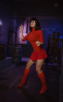 Velma Dinkley - ScoobyDoo by CaptainIrachka