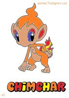 Chimchar Lineart by animeVampire-cat