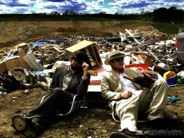 Suits in a Landfill - 014 by PxRxSxRx