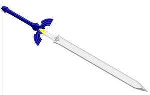 Master sword by MagicMushroomTony