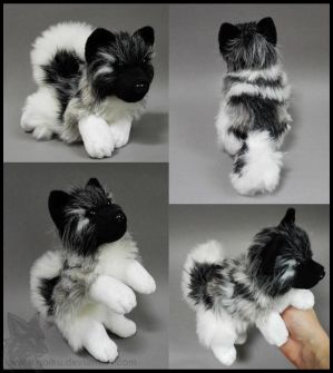 SOLD - Norwegian Elkhound ~ Small floppy by goiku