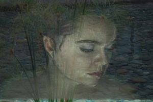 Girl from the water of my mind by pinkplastik
