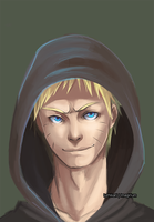 Naruto The last headshot by luzhikari