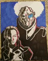 Mass Effect Commission by ZombieErnie