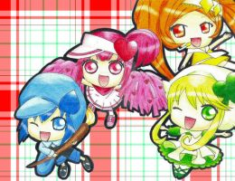Amu no Shugo Chara - plaid ver by NightmareTease
