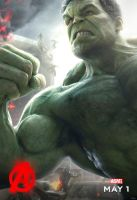 The Incredible Hulk in Avengers Age of Ultron by MGTTrailers
