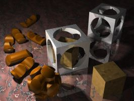 IRTC Entry: Metal Puzzles by mystiscool