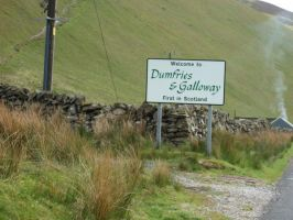 Entering Dumfries and Galloway by rosequartz