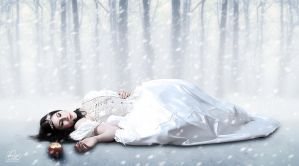 - The Death of Snow White - by OmniaMohamedArt