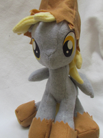 Night Mare Night Derpy plushie by buttsnstuff