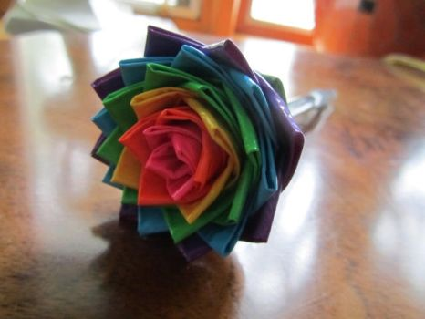 Duct Tape Flower 3 by SharpieObsessed