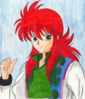 Thumbs Up-Kurama by aikou-yami