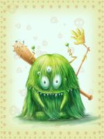 Green Monster for the lazy by qi-art