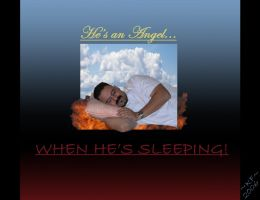 He's an Angel... by annora