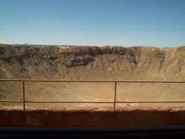 Meteor crater by Goat1887