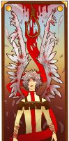 Featherbent Karkat : 10 August 2013 by PaperPlatePhace