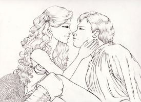 Disney: Wish I Could Be... Line-art by kimberly-castello