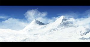 mountain speedpainting by regnar3712