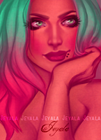 Daydream touch-up by Jeyala