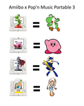 Amiibo x Pop'n Music Portable 3 Concept by MamonFighter761