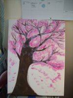 Cherry blossom in bigger scale :D by McMuffinNinjaFluffer