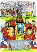 CHILE CHAMPION AMERICA CUP2015 color by ChrisVares