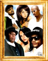 Hip Hop Legends by EJ2letters
