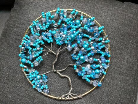 Turquoise Tree of Life by SoPhoenix