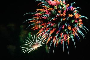 Fireworks Stock 48 by Malleni-Stock