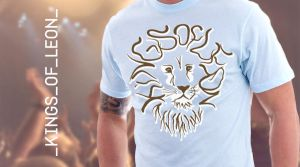 KOL Retro Lion T-shirt design by brainstormdesign