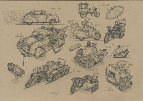 Wheeled Vehicles - Their Pride and Joy... 001 by hesir