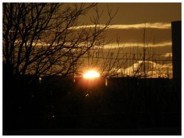 Winter sunset by r3akc3