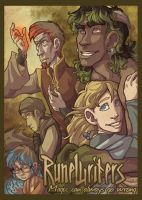 RuneWriters Poster by Shazzbaa