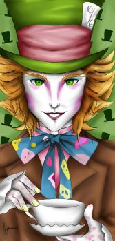 Mad Hatter by tifa005