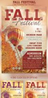 Fall Festival Event Flyer Template by Godserv