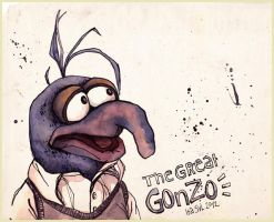 The Great Gonzo by Iraville