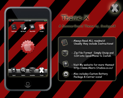 Theme X for Ipod Touch by GeekGod4
