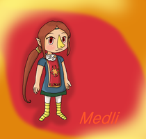 Medli - Wind Waker by iZelda27