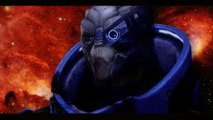 Mass Effect 2 Garrus by AgataFoxxx