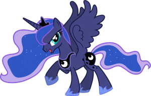 Princess Luna Dancing by 90Sigma