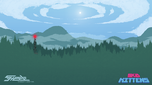 pixel pine forest by SteeleStar